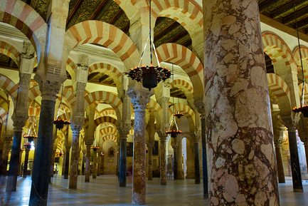 Большая мечеть (мескита) в Кордове, Испания