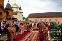 Блаженнейший митрополит Киевский Онуфрий посетил Александро-Невский монастырь в с. Городнее на Волыни