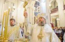 В праздник Богоявления митрополит Астанайский Александр совершил Литургию в Вознесенском кафедральном соборе Алма-Аты