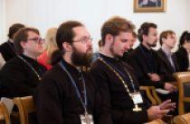 В Общецерковной аспирантуре проходят курсы повышения квалификации для руководителей епархиальных информационных отделов