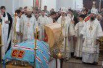 В Омской епархии состоялось отпевание и погребение старейшего иерарха Русской Православной Церкви митрополита Феодосия (Процюка)