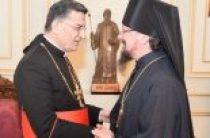 Представитель Русской Православной Церкви встретился с маронитским Патриархом Бешарой ар-Раи
