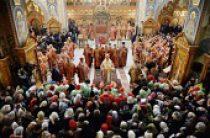 Предстоятель Русской Церкви совершил Литургию на Бутовском полигоне