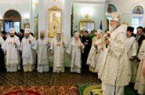 В канун праздника Вознесения Господня Святейший Патриарх Кирилл совершил всенощное бдение в Воскресенско-Германовском соборе г. Ульяновска