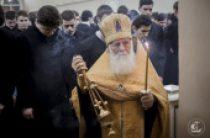 В Санкт-Петербургской духовной академии совершено первое богослужение в честь ее выпускника новопрославленного святителя Серафима (Соболева)