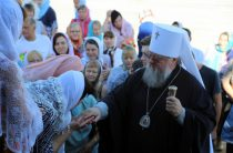 В посёлке Александровка освящён храм