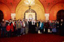 Святейший Патриарх Кирилл встретился с группой паломников из Китая