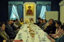 Вопросы сотрудничества волонтеров с медицинскими учреждениями обсудили в Синодальном отделе по церковной благотворительности и социальному служению