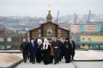 Святейший Патриарх Кирилл посетил мемориал «Норильская Голгофа»