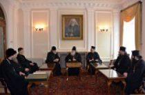 Святейший Патриарх Болгарский Неофит принял делегацию Русской Православной Церкви
