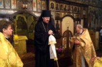 О жителях пострадавшего от терактов Парижа молились в кафедральном храме Корсунской епархии