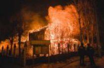 Сгорел старейший православный храм в Ивановской епархии