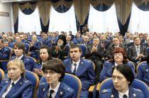 КРИВОЙ РОГ. Епархия поздравила работников прокуратуры с профессиональным праздником