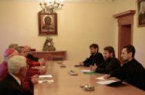 Митрополит Волоколамский Иларион встретился с делегацией Англиканской Церкви в Северной Америке