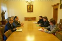 Председатель Отдела внешних церковных связей встретился с послом Турецкой Республики в России
