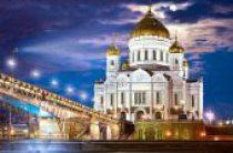 В канун праздника Воздвижения Честного и Животворящего Креста Господня Святейший Патриарх Кирилл совершил всенощное бдение в Храме Христа Спасителя в Москве