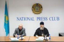 Состоялась пресс-конференция митрополита Астанайского Александра, посвященная итогам деятельности Казахстанского митрополичьего округа за 2015 год