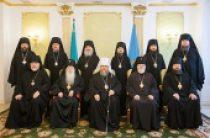 Состоялось последнее в 2015 году заседание Синода Казахстанского митрополичьего округа