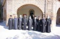 Делегация Московских духовных школ во главе с архиепископом Верейским Евгением посетила Армению