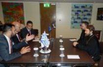 Председатель ОВЦС встретился заместителем министра иностранных дел Греции, генеральным секретарем Межпарламентской ассамблеи Православия Я. Аманатидисом