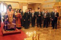 В канун 70-й годовщины Великой Победы дипломаты ООН молились за панихидой о воинах-освободителях и жертвах фашизма