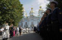 Память моряков АПЛ «Курск» молитвенно почтили в Санкт-Петербурге в 15-ю годовщину гибели подлодки