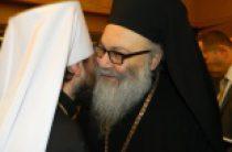Митрополит Волоколамский Иларион встретился с Патриархом Антиохийским Иоанном X
