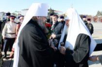 Начался Первосвятительский визит Святейшего Патриарха Кирилла в Донскую митрополию