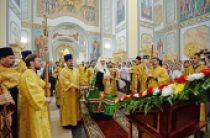 Святейший Патриарх Кирилл освятил храм Смоленской иконы Божией Матери в Орле