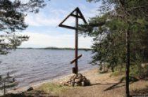 На Сямозере установили поклонный крест