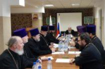 В Синодальном комитете по взаимодействию с казачеством состоялось заседание коллегии войсковых священников