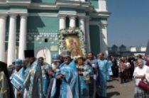 В Смоленске прошли торжества по случаю праздника Смоленской иконы Божией Матери