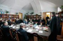 «Византийский кабинет» в Петербургских духовных школах открылся дискуссией на тему 1000-летия Русского Афона
