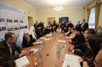Святейший Патриарх Кирилл встретился с победителями конкурса «Православная инициатива» от Санкт-Петербургской митрополии