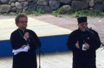 Председатель Синодального молодежного отдела выступил перед участниками межконфессионального фестиваля Кирхентаг в Финляндии