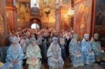 Митрополит Крутицкий Ювеналий возглавил торжества по случаю престольного праздника Новодевичьего монастыря г. Москвы