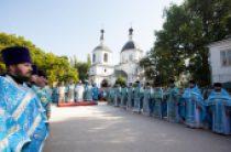 В Донской митрополии состоялись торжества в честь Донской иконы Божией Матери