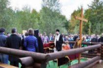 На месте строительства православного храма в Мюнхене впервые совершен молебен