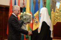 Мэр Москвы С.С. Собянин поздравил Святейшего Патриарха Кирилла с тезоименитством