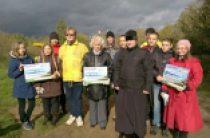 При поддержке Синодального отдела по делам молодежи и Молодежного отдела Московской городской епархии прошла акция «Чистый берег»