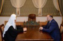 Предстоятель Русской Церкви встретился с губернатором Калининградской области