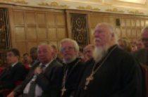 Международный форум, посвященный актуальным вопросам утверждения семейных ценностей, прошел в Москве при участии священнослужителей Русской Церкви