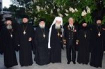 Духовенство и прихожане подворья Русской Православной Церкви в Софии приняли участие в праздновании 70-летия Великой Победы