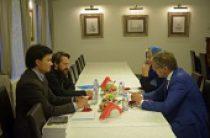 Митрополит Волоколамский Иларион встретился с мэром Риги