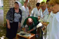 За последние три недели Синодальный отдел по благотворительности передал 102 тонны продуктов мирным жителям Украины