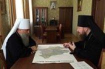 Управляющий делами Московской Патриархии познакомился со становлением церковной жизни в Бежецкой епархии
