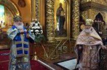 Состоялось чествование почетного настоятеля Богоявленского кафедрального собора г. Москвы протопресвитера Матфея Стаднюка по случаю 90-летия со дня рождения