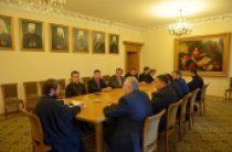 Митрополит Волоколамский Иларион встретился с представителями Консультативного совета глав протестантских церквей России
