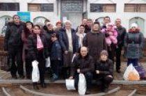 Синодальный отдел по благотворительности передал в феврале около 6 тонн продуктов мирным жителям Донецкой области