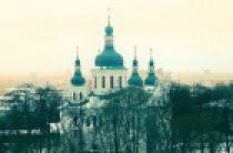 Предстоятель Украинской Православной Церкви совершил освящение храма и Литургию в Кирилловском монастыре Киева